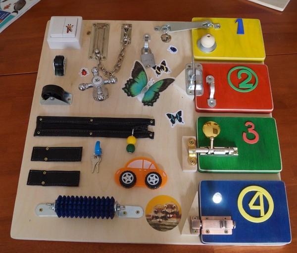 Развивающие игрушки для детей 1.5 лет своими руками