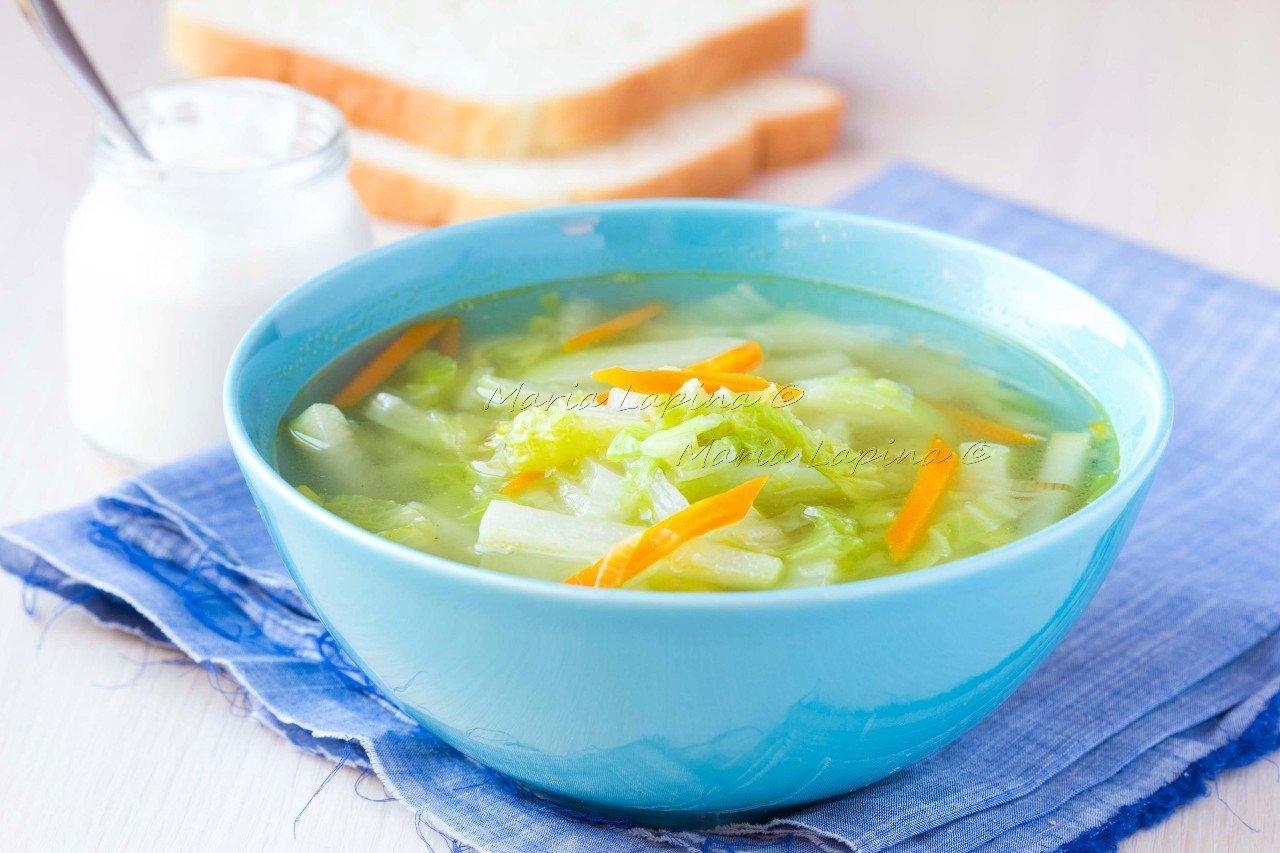 Рецепт супа капустной диеты